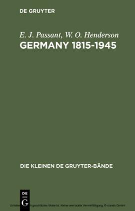 Germany 1815-1945