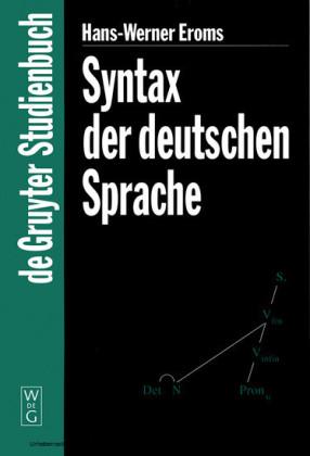 Syntax der deutschen Sprache