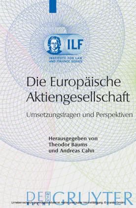 Die Europäische Aktiengesellschaft
