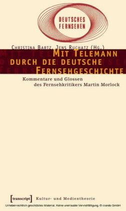 Mit Telemann durch die deutsche Fernsehgeschichte