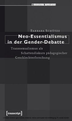 Neo-Essentialismus in der Gender-Debatte