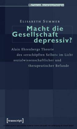 Macht die Gesellschaft depressiv?