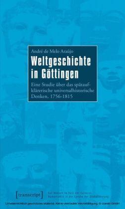 Weltgeschichte in Göttingen