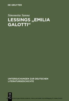 Lessings 'Emilia Galotti'