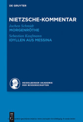 Kommentar zu Nietzsches 'Morgenröthe', 'Idyllen aus Messina'
