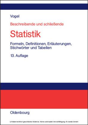 Beschreibende und schließende Statistik