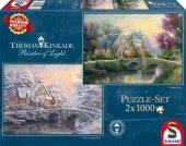 Lamplight Manour / Winter in Lamplight Manour (Puzzle) Cover