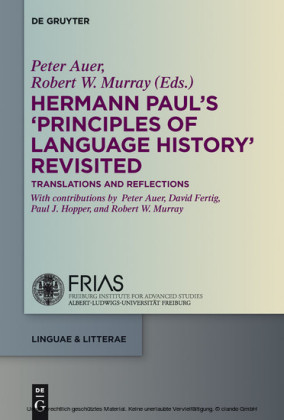 Hermann Paul's 'Principles of Language History' Revisited