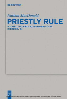 Priestly Rule