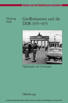 Großbritannien und die DDR 1955-1973