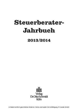 Steuerberater-Jahrbuch 2013/2014