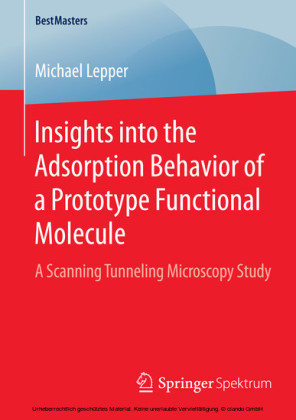 Insights into the Adsorption Behavior of a Prototype Functional Molecule