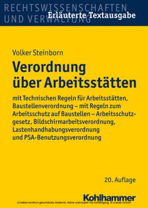 Verordnung über Arbeitsstätten
