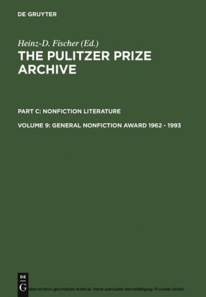 General Nonfiction Award 1962 - 1993