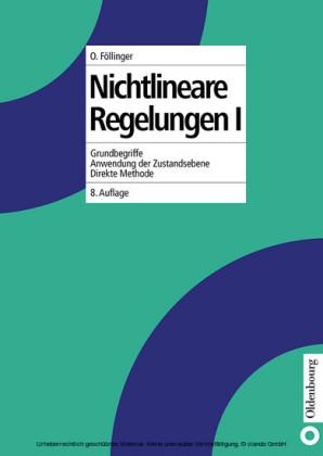 Nichtlineare Regelungen I