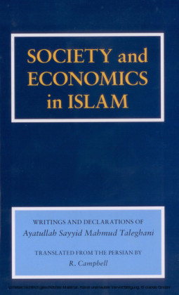 Society and Economics in Islam