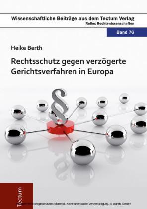 Rechtsschutz gegen verzögerte Gerichtsverfahren in Europa