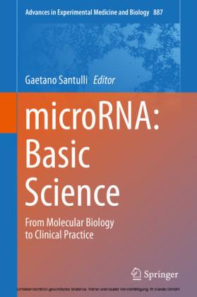 microRNA: Basic Science