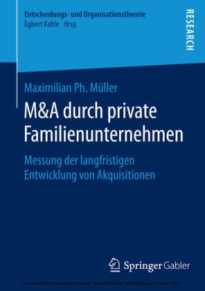 M&A durch private Familienunternehmen