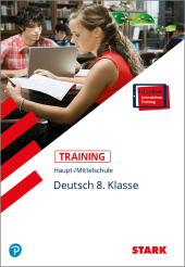 Deutsch 8. Klasse, m. CD-ROM Cover