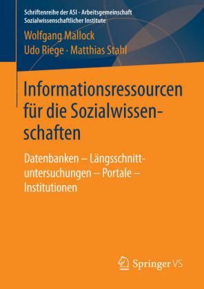 Informationsressourcen für die Sozialwissenschaften