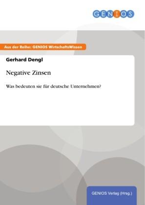 Negative Zinsen