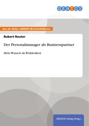 Der Personalmanager als Businesspartner