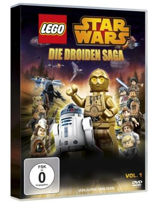 Lego Star Wars: Die Droiden Saga, 1 DVD