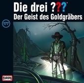 Die drei ??? - Der Geist des Goldgräbers, 1 Audio-CD Cover
