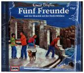 Fünf Freunde - und der Skandal auf der Freilichtbühne, 1 Audio-CD