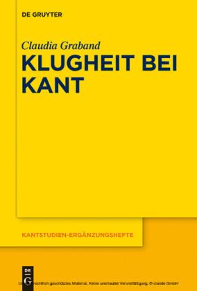Klugheit bei Kant