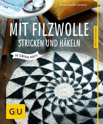 Mit Filzwolle stricken und häkeln (eBook) | HOFER life