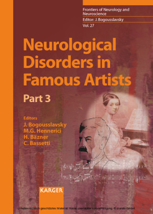 Neurological Disorders in Famous Artists - Part 3