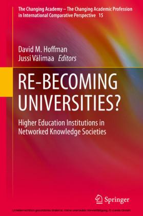 RE-BECOMING UNIVERSITIES?