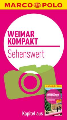 MARCO POLO kompakt Reiseführer Weimar - Sehenswertes