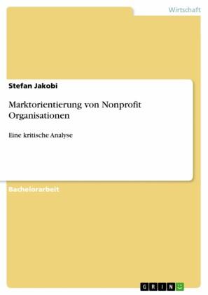 Marktorientierung von Nonprofit Organisationen