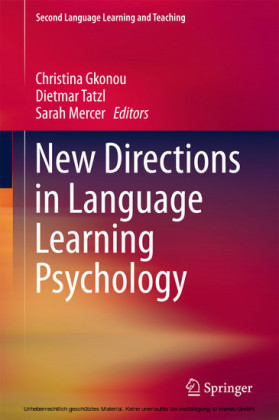 New Directions in Language Learning Psychology