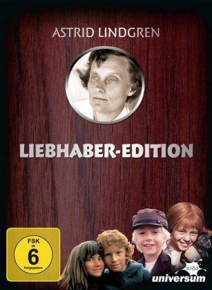Astrid Lindgren: Liebhaber-Edition, 10 DVDs