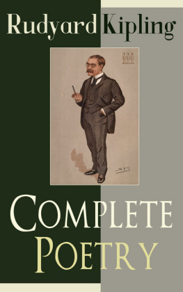 Complete Poetry of Rudyard Kipling