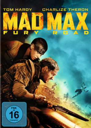 Mad Max: Fury Road, 1 DVD