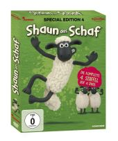 Shaun das Schaf, 4 DVDs (Special Edition) Cover