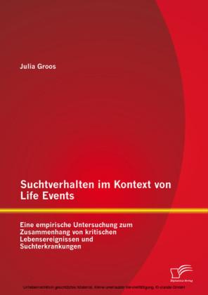 Suchtverhalten im Kontext von Life Events: Eine empirische Untersuchung zum Zusammenhang von kritischen Lebensereignissen und Suchterkrankungen