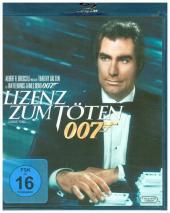 James Bond 007 - Lizenz zum Töten, 1 Blu-ray Cover