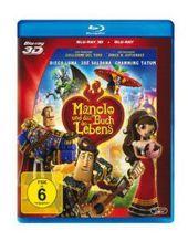 Manolo und das Buch des Lebens 3D, 1 Blu-ray