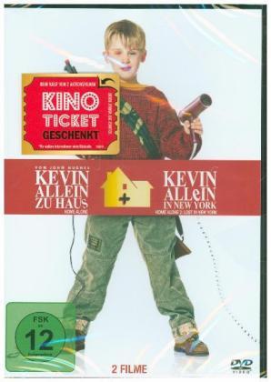 Kevin Allein Zuhaus Box 1 & 2, 1 DVD