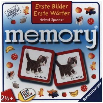 Erste Bilder - Erste Wörter memory® (Kinderspiel)