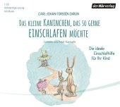Das kleine Kaninchen, das so gerne einschlafen möchte, 1 Audio-CD Cover