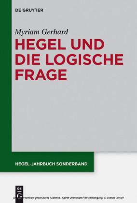 Hegel und die logische Frage