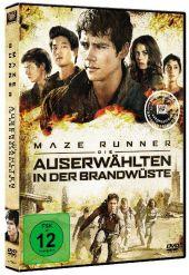 Maze Runner - Die Auserwählten in der Brandwüste, 1 DVD Cover