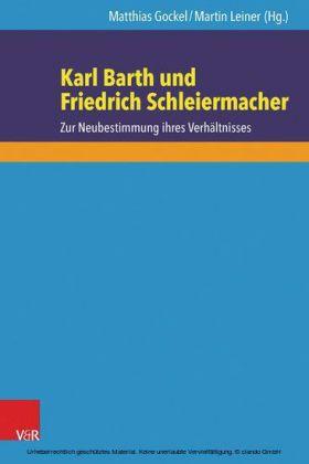 Karl Barth und Friedrich Schleiermacher